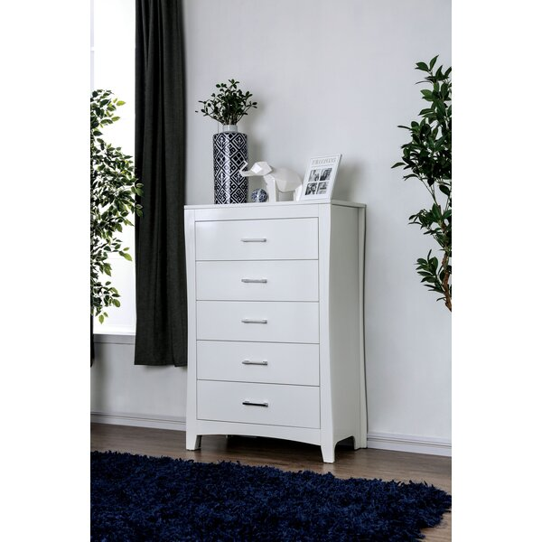 Milian 5 Drawer Chest by Latitude Run