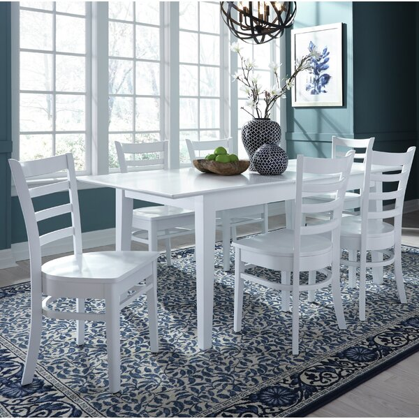 7 Piece Extendable Solid Wood Dining Set by Sedgewick Industries Sedgewick Industries