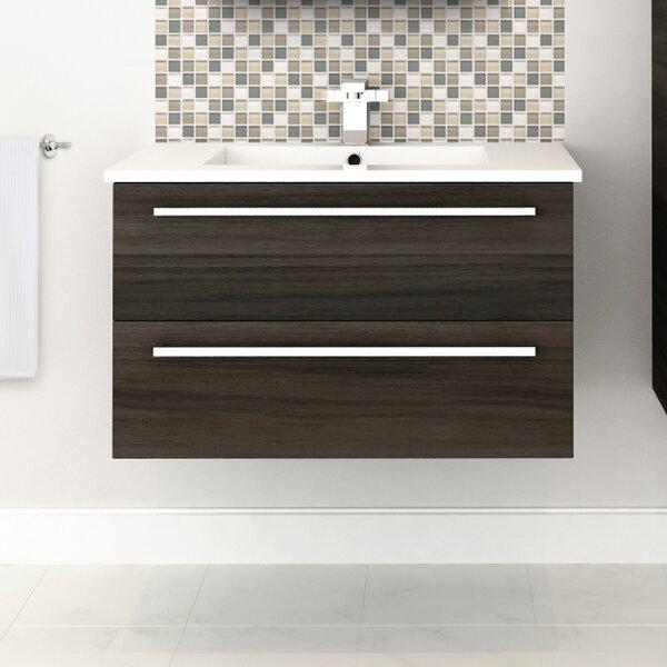 Silhouette 30  Single Bathroom Vanity Set by Cutle