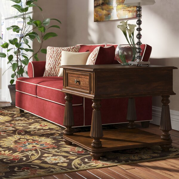 Leesburg End Table With Storage By Hooker Furniture