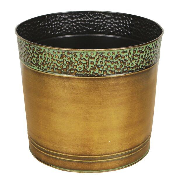 DuVig Round Pot Planter by Andover Mills