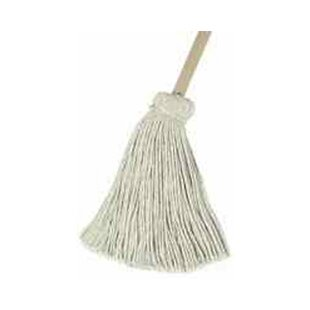 16 Handle Deck Mop Head in White