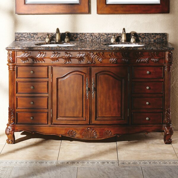 Vendome 60 Double Bathroom Vanity Set by Astoria Grand
