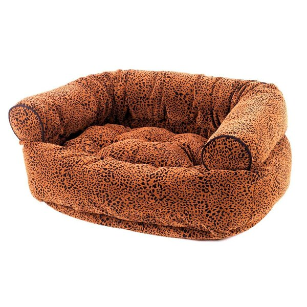 Double Bolster Dog Bed by Bowsers