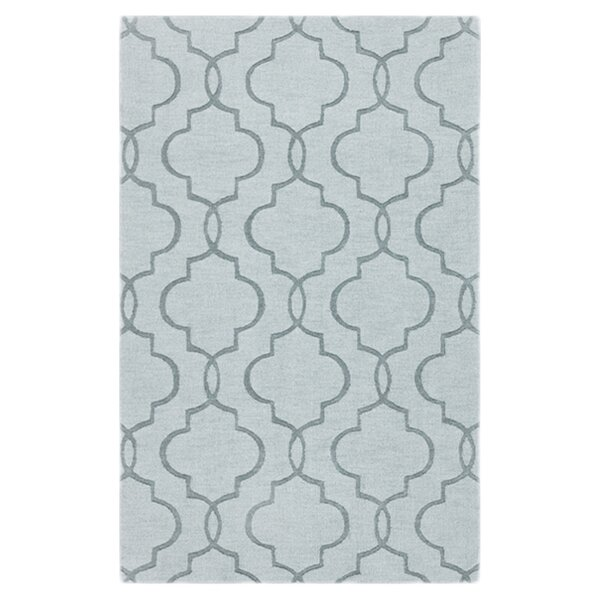Vasques Green Area Rug by Wrought Studio