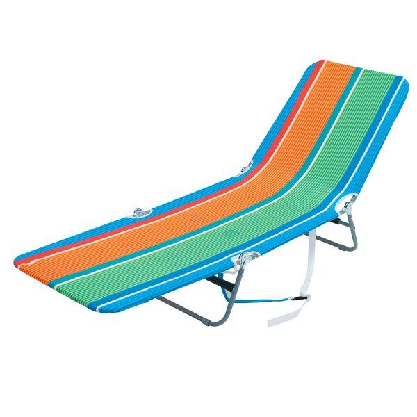 Berkley Backpack Lounger Reclining Beach Chair By Freeport Park