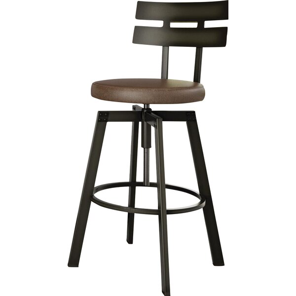 Berrycone Adjustable Height Bar Stool by Trent Austin Design