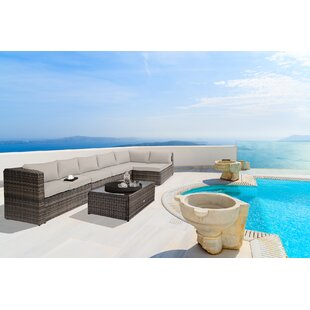 Nat 4 Piece Sofa Set with Cushions By Baner Garden