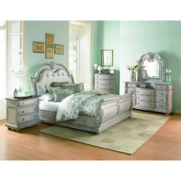 Toddington Upholstered Sleigh Bed by Astoria Grand