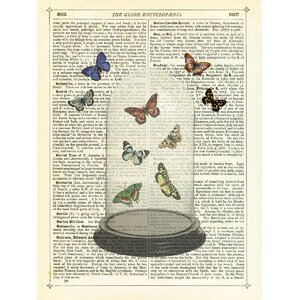 Butterfly Dome Graphic Art by McGaw Graphics