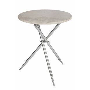 Steele Marble End Table