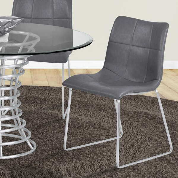 McMahon Upholstered Dining Chair (Set of 2) by Ebern Designs