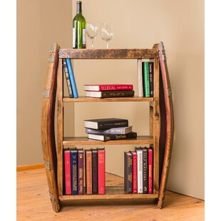 Wine Barrel Standard Bookcase by Napa East Collection Herry Up