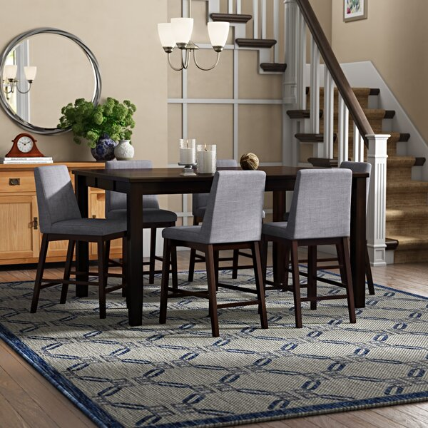Sevoian 7 Piece Counter Height Dining Set by Andover Mills
