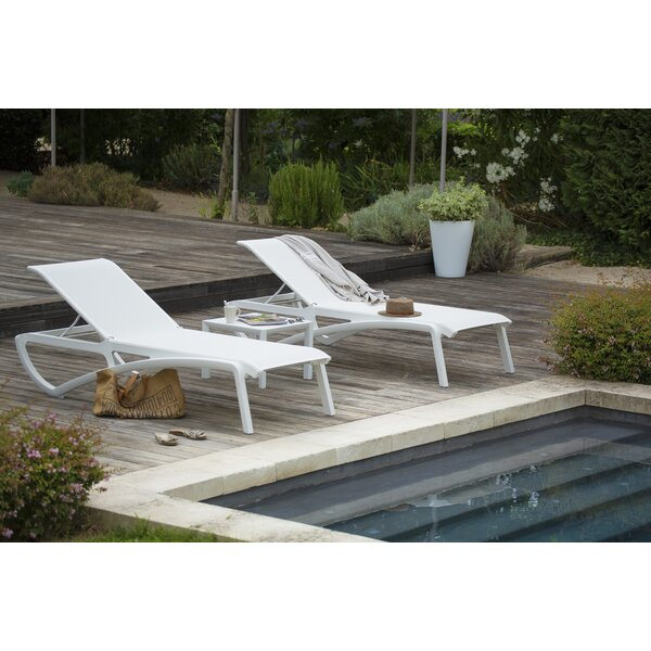 Sunset Reclining Chaise Lounge (Set of 2)
