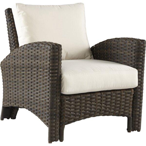 Spruill Panama Deep Seating Chair with Cushion by Bay Isle Home