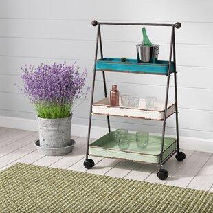 Farina 3 Tier Bar Cart by Laurel Foundry Modern Farmhouse