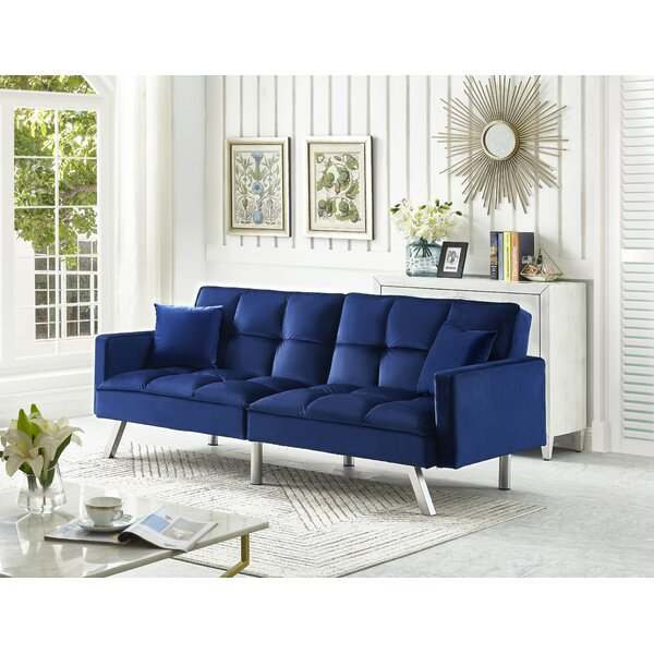 Brackin Twin Or Smaller Split Back Convertible Sofa By Mercer41