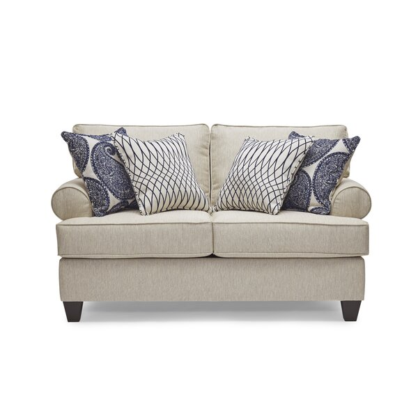Perfect Quality Clearbrook Loveseat by Darby Home Co by Darby Home Co