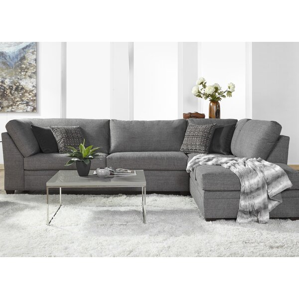 Perrault 138-inch Right Hand Facing Sectional By Ebern Designs