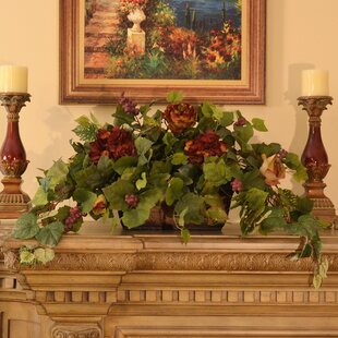 Grape Ivy Hydrangeas Floral Arrangement