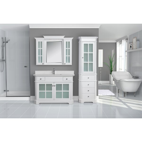 Conner 48 Single Bathroom Vanity Set by Rosecliff Heights