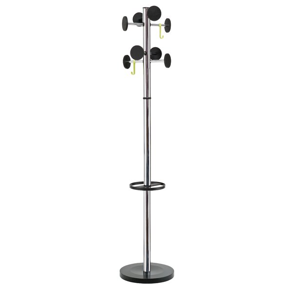 Coat Rack with Large Capacity Umbrella Holder by Alba