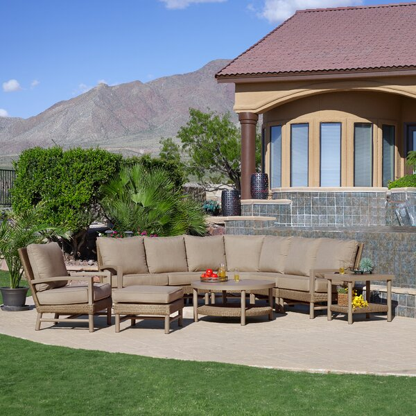 Hampton 9 Piece Complete Patio Set by Winston