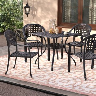 Desirae 5 Piece Conversation Set By World Menagerie