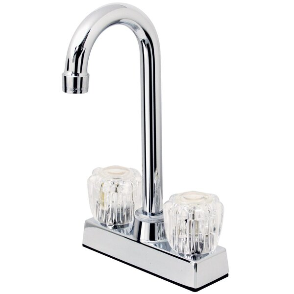 Double Handle Kitchen Faucet by Hardware House
