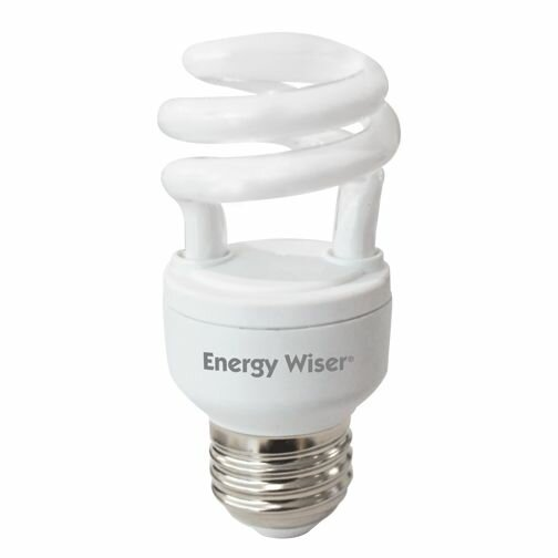5W 120-Volt (2700K) T2 Coil Light Bulb (Set of 9) by Bulbrite Industries