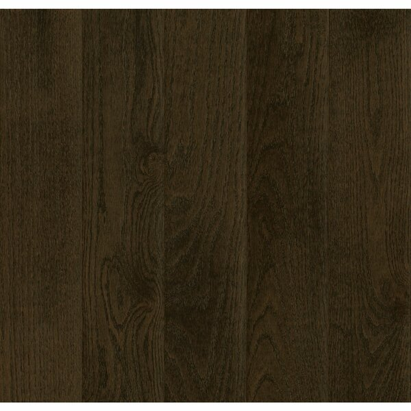 Prime Harvest 2-1/4 Solid Oak Hardwood Flooring in Blackened Brown by Armstrong Flooring