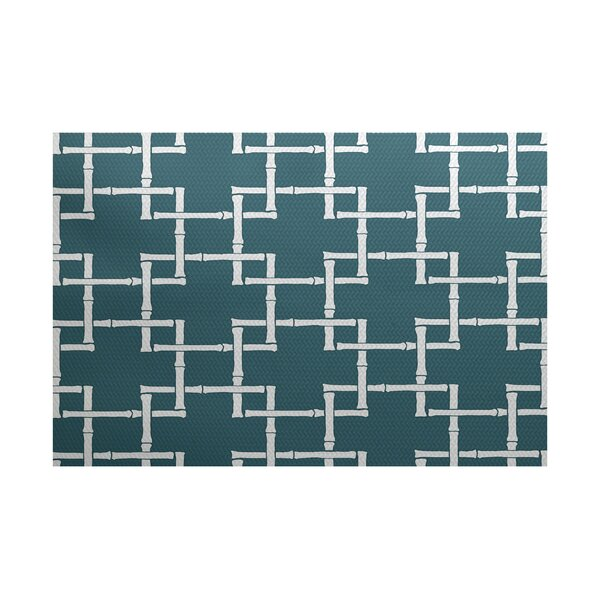Connelly Blue Indoor/Outdoor Area Rug by Bay Isle Home