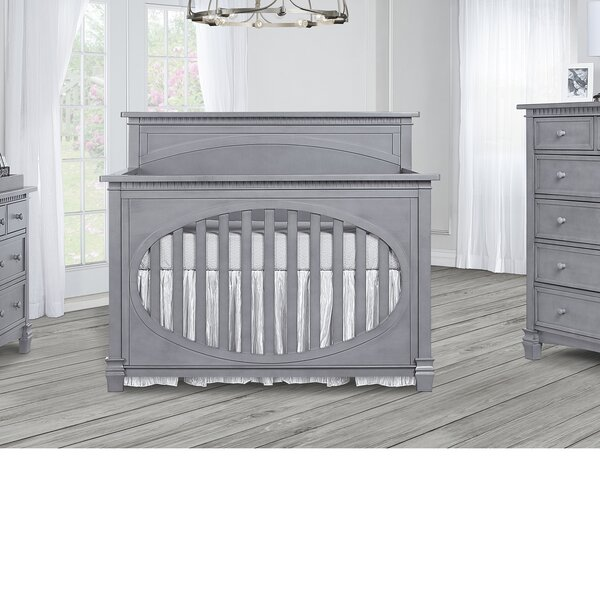 Alessandra 5-in-1 Convertible Crib by Harriet Bee