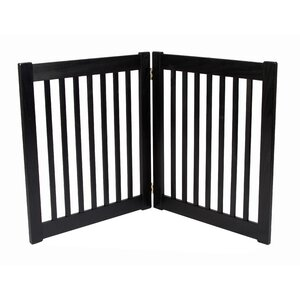 Amish Handcrafted 2 Panel Free Standing EZ Gate