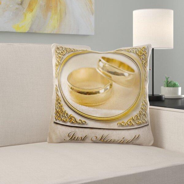 Just Married Pillow Wayfair