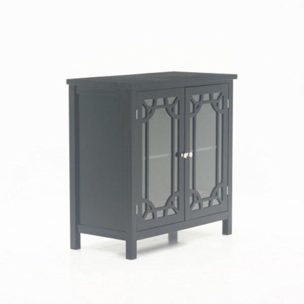 Raney 2 Door Square Accent Cabinet by Red Barrel Studio Red Barrel Studio