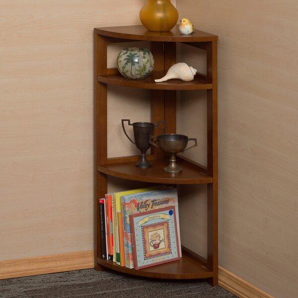 Gusman Flip Flop Folding Corner Bookcase By Union Rustic