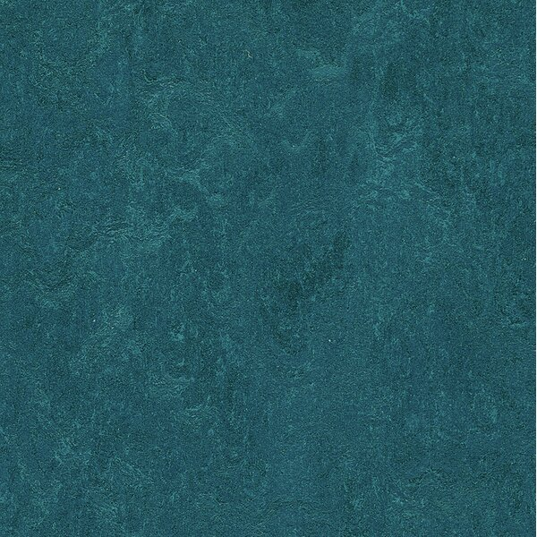 Marmoleum Click Cinch Loc 11.81 x 11.81 x 9.9mm Cork Laminate Flooring in Blue by Forbo