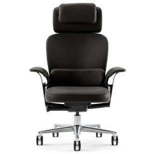 Review Leap® High-Back Leather Executive Chair by Steelcase