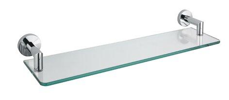 Bivins Glass Bathroom Accessory Tray by Orren Ellis