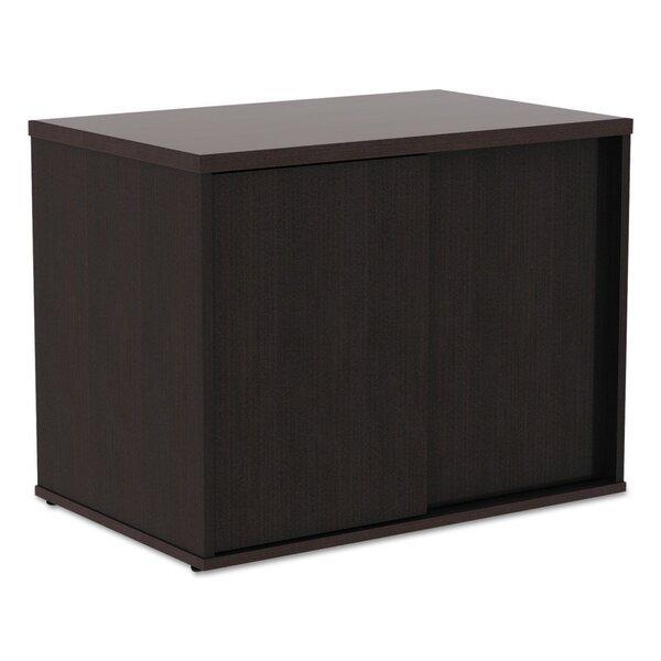 Tiernan Open Office Low Storage Cabinet Credenza Desk by Latitude Run