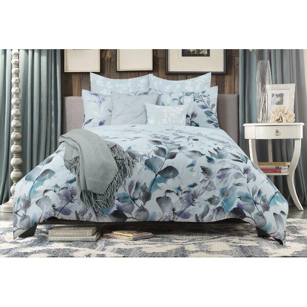 Aurora Comforter Set By Universal Home Fashions.