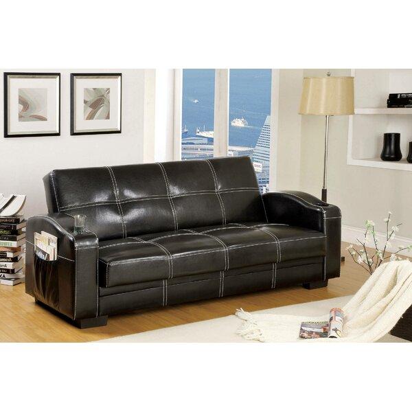 Delphine Twin Or SmallerTufted Back Convertible Sofa By Latitude Run