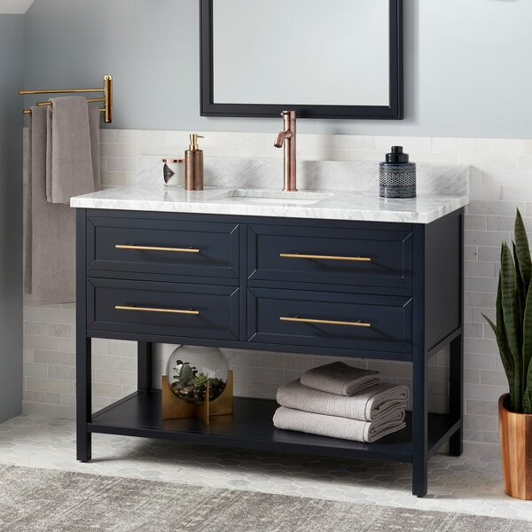 Robertson Marble 49 Single Bathroom Vanity Set