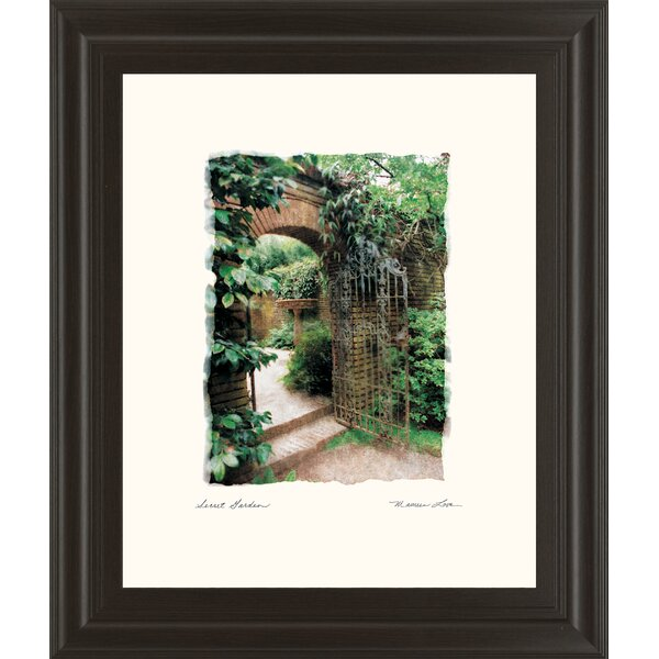 Secret Garden by Love Framed Photographic Print by Classy Art Wholesalers