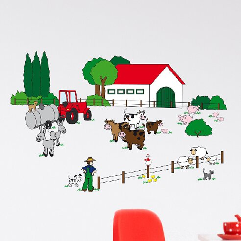 Euro The Farm Wall Decal by Brewster Home Fashions
