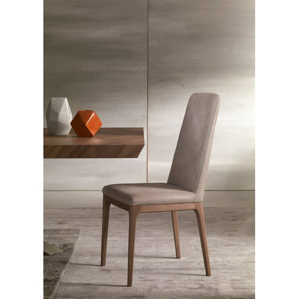 Post Genuine Leather Upholstered Dining Chair by YumanMod