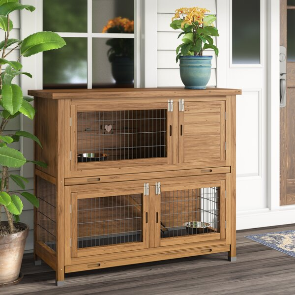 Ericka Wood Animal Hutch by Tucker Murphy Pet