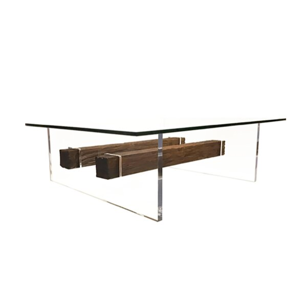 Foundry Select Glass Top Coffee Tables